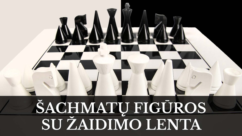 Šachmatų lentos ir figūros - didžiausias pasirinkimas internete.